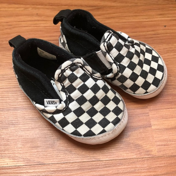 compare price best selection of top style Infants Checkered Vans